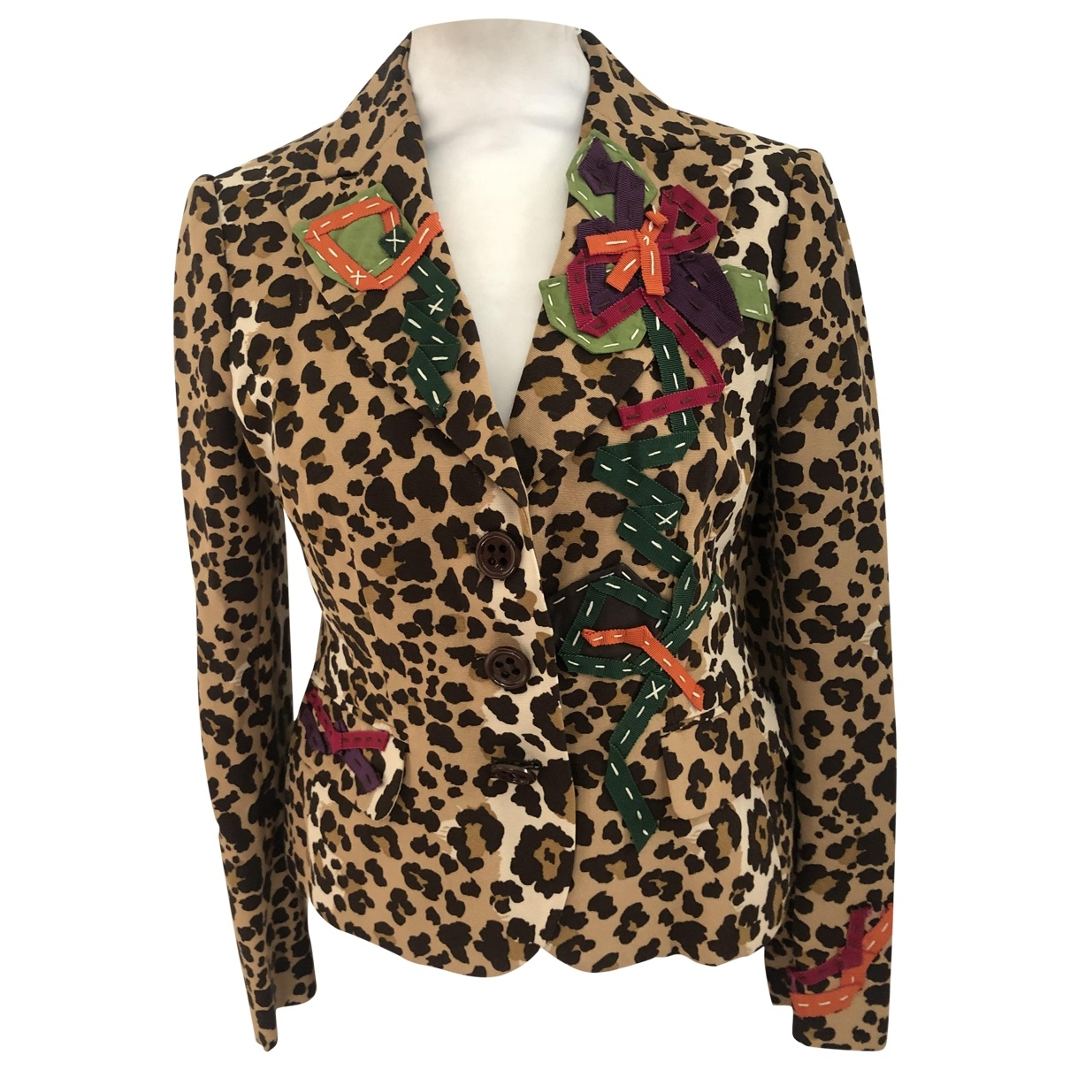 Moschino Cheap And Chic \N Jacke in Baumwolle