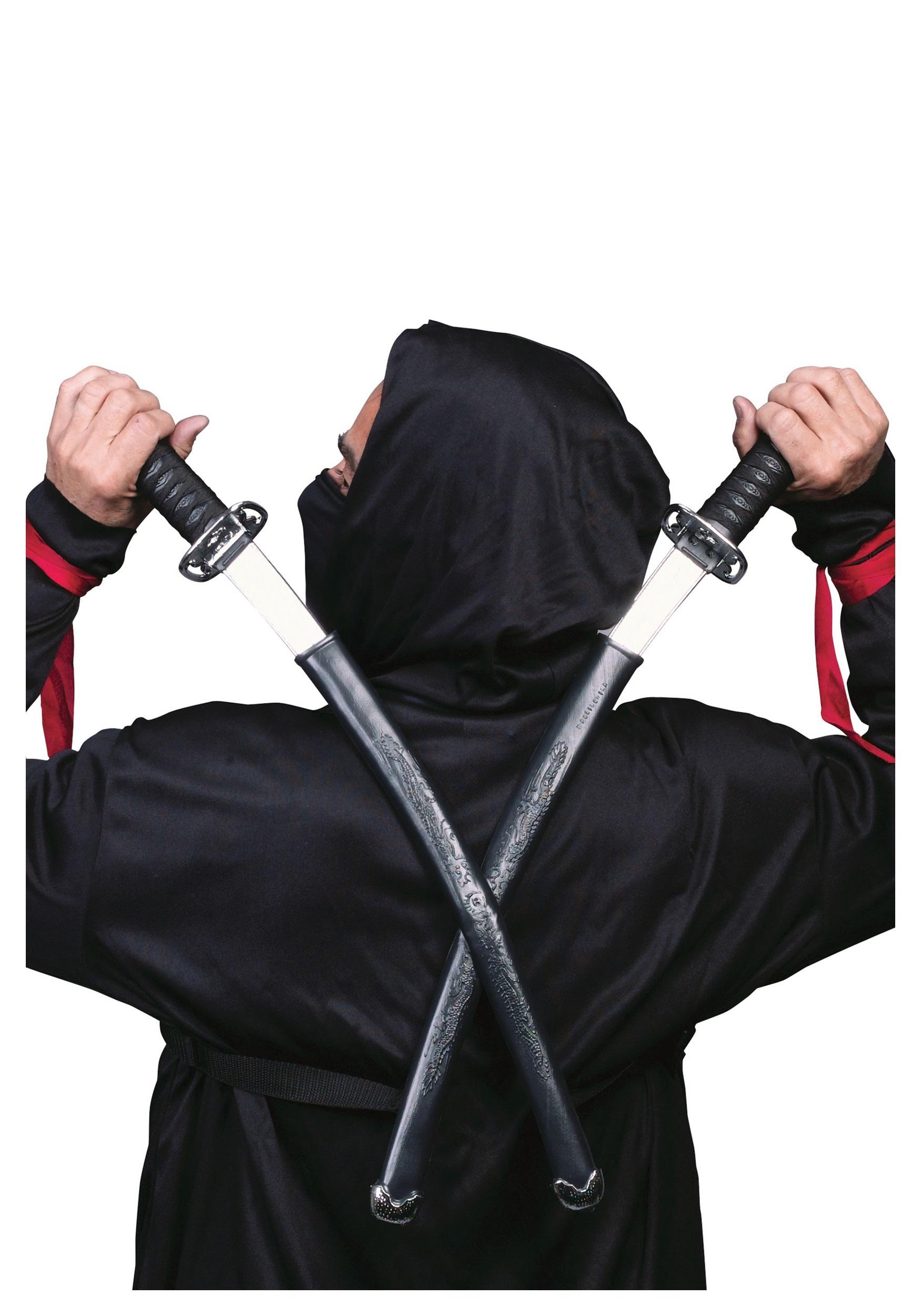 Twin Ninja Warrior Swords