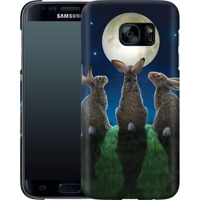 Samsung Galaxy S7 Smartphone Huelle - Moonshadows von Lisa Parker