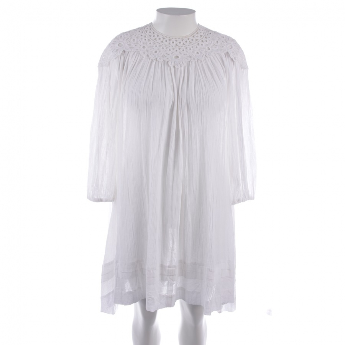Isabel Marant Etoile - Robe   pour femme en coton - blanc