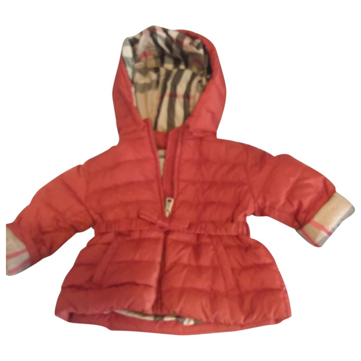 Burberry - Blousons.Manteaux   pour enfant - orange