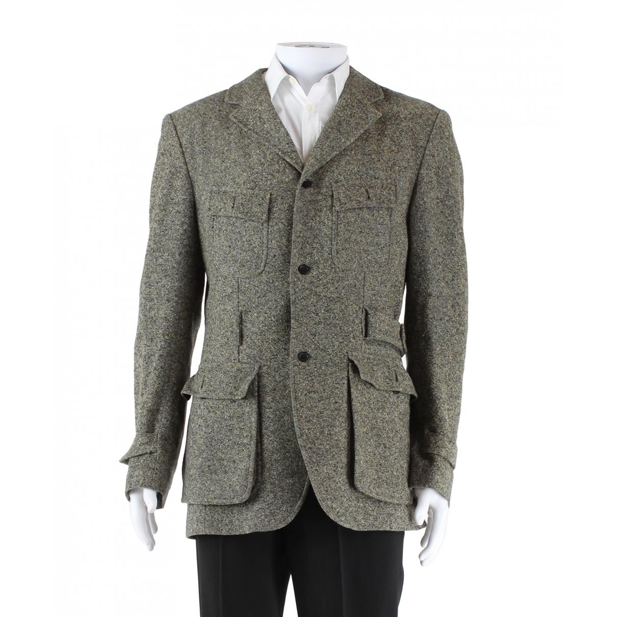 Kenzo - Vestes.Blousons   pour homme en laine - marron