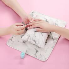 1 Stueck Nail Art Handkissen & 1pc Tischmatte