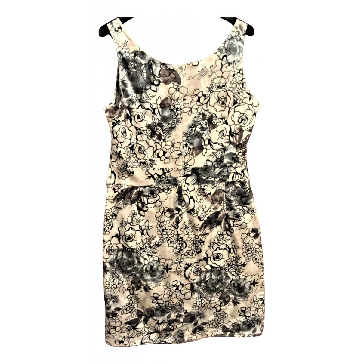 Non Signe / Unsigned \N Kleid in  Beige Baumwolle - Elasthan
