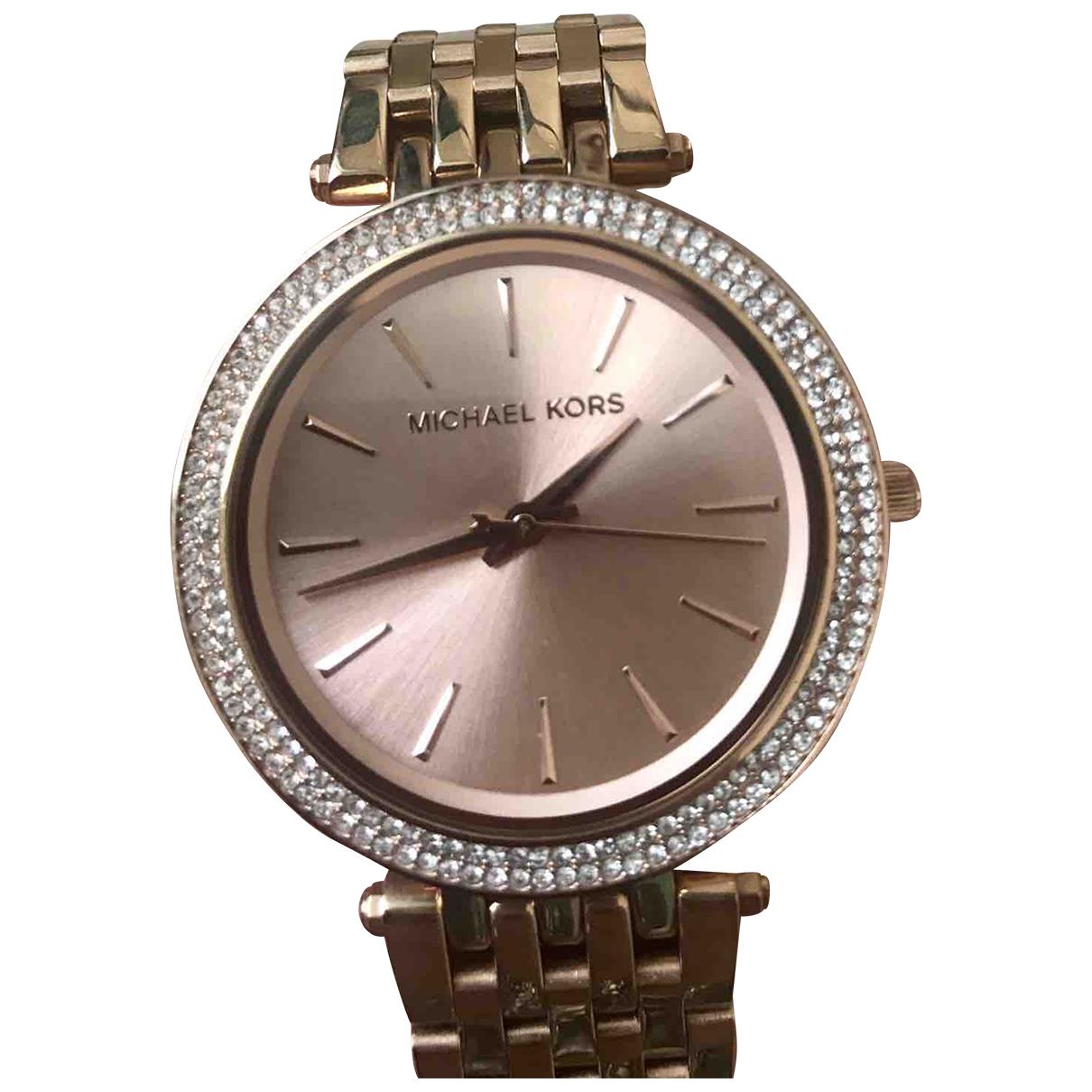 Michael Kors N Pink Steel watch for Women N