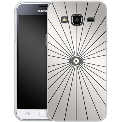 Samsung Galaxy J3 (2016) Silikon Handyhuelle - Big Brother von Florent Bodart