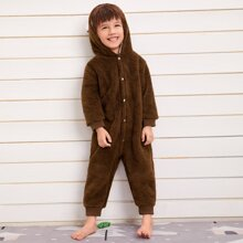 Homewear de niño pequeño Parches Dulce