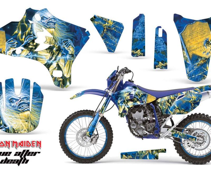 AMR Racing Graphics MX-NP-YAM-YZ250F-YZ450F-05-06-IM LAD Kit Decal Wrap + # Plates For Yamaha YZ250F YZ450F 2005-2006 IM LAD