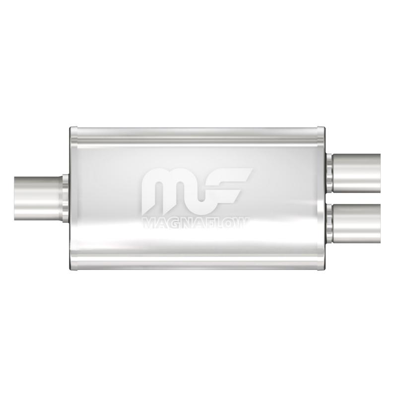 MagnaFlow 11148 Exhaust Products Universal Performance Muffler - 2.25/2
