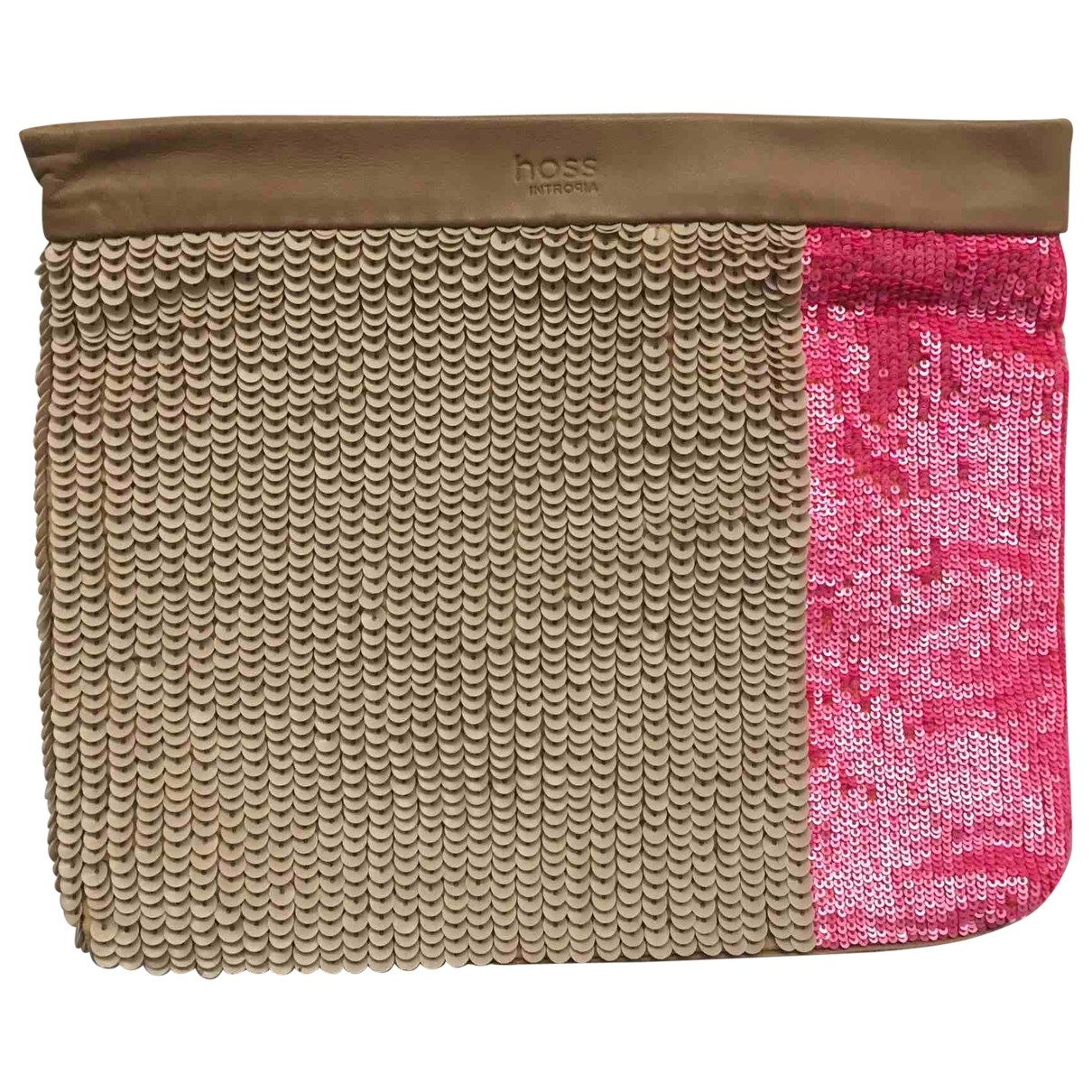 Hoss Intropia \N Beige Glitter handbag for Women \N