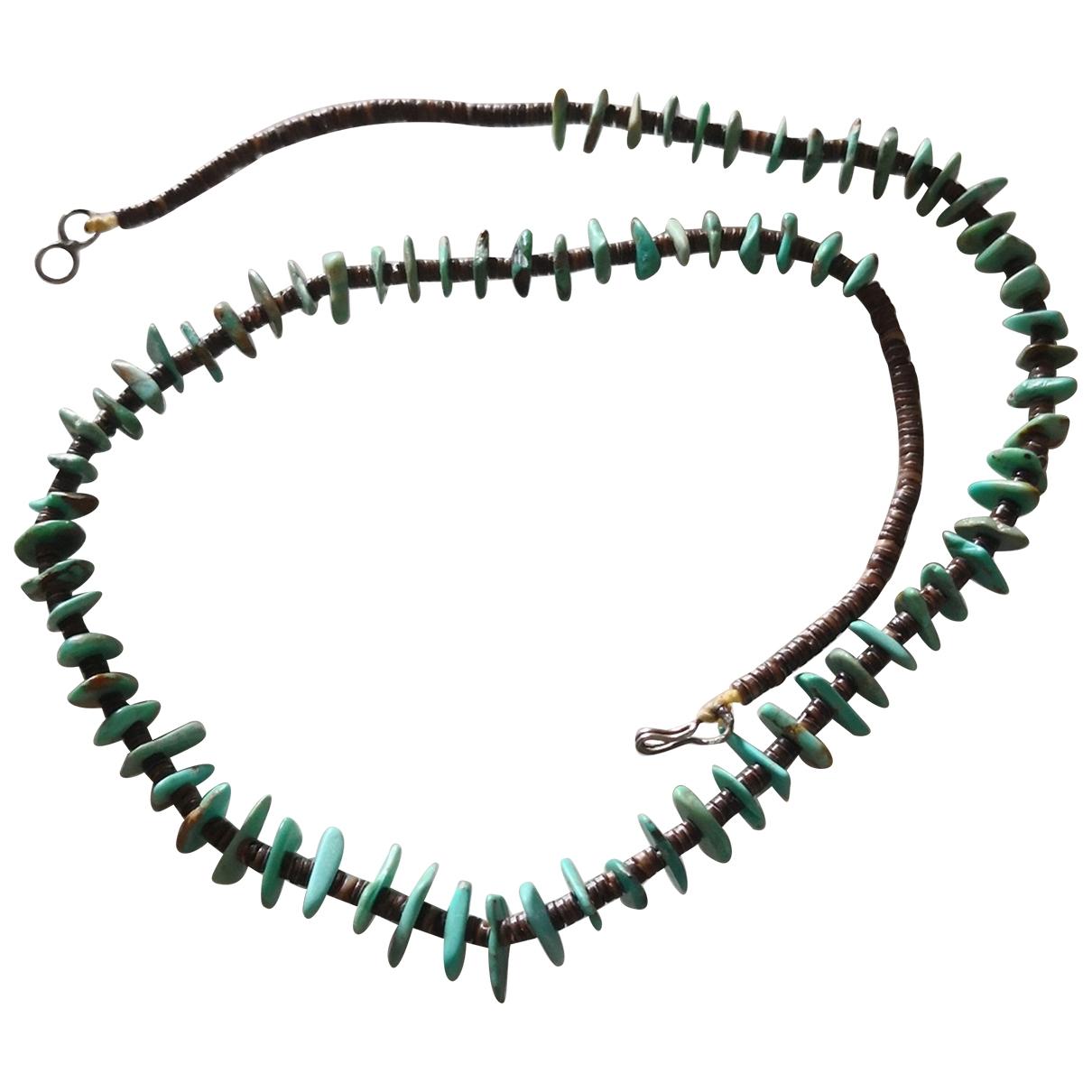 - Collier Turquoises pour femme en perles - turquoise