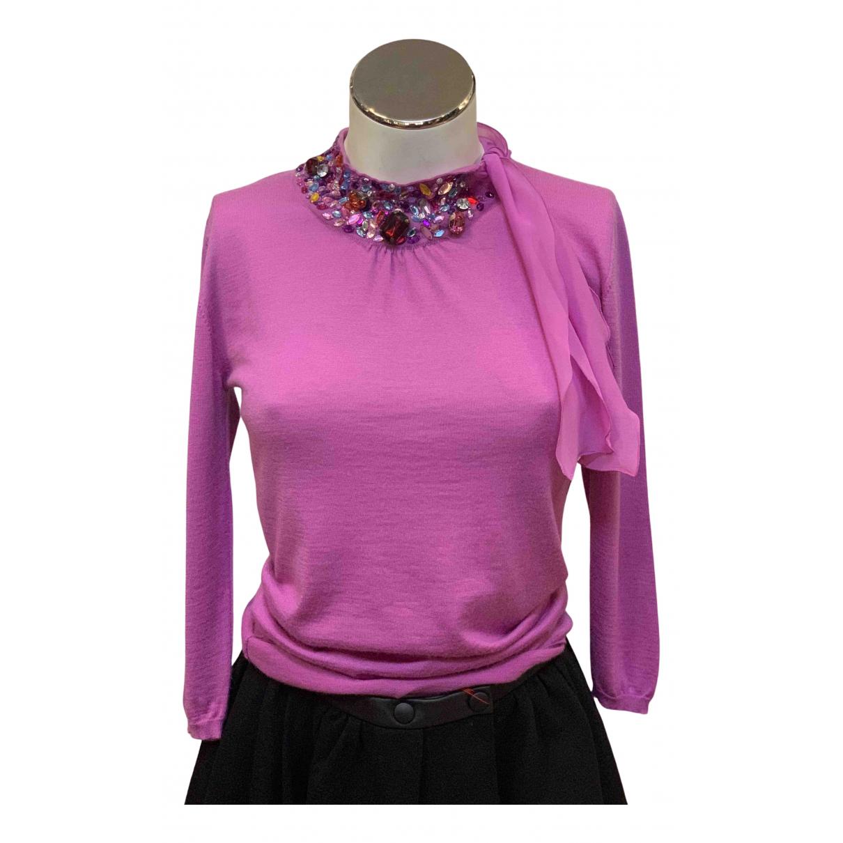 Dior - Pull   pour femme en cachemire - rose