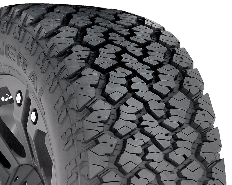 General Grabber AT2 Tires 265/65/17 112T BSW