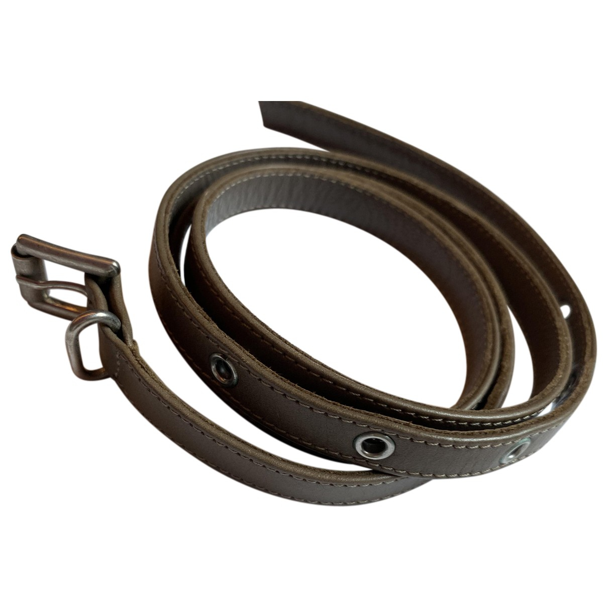 Gianvito Rossi N Brown Leather bracelet for Women N