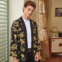 Kimono mit chinesischem Drache Muster