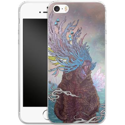 Apple iPhone 5s Silikon Handyhuelle - Journeying Spirit - Bear von Mat Miller