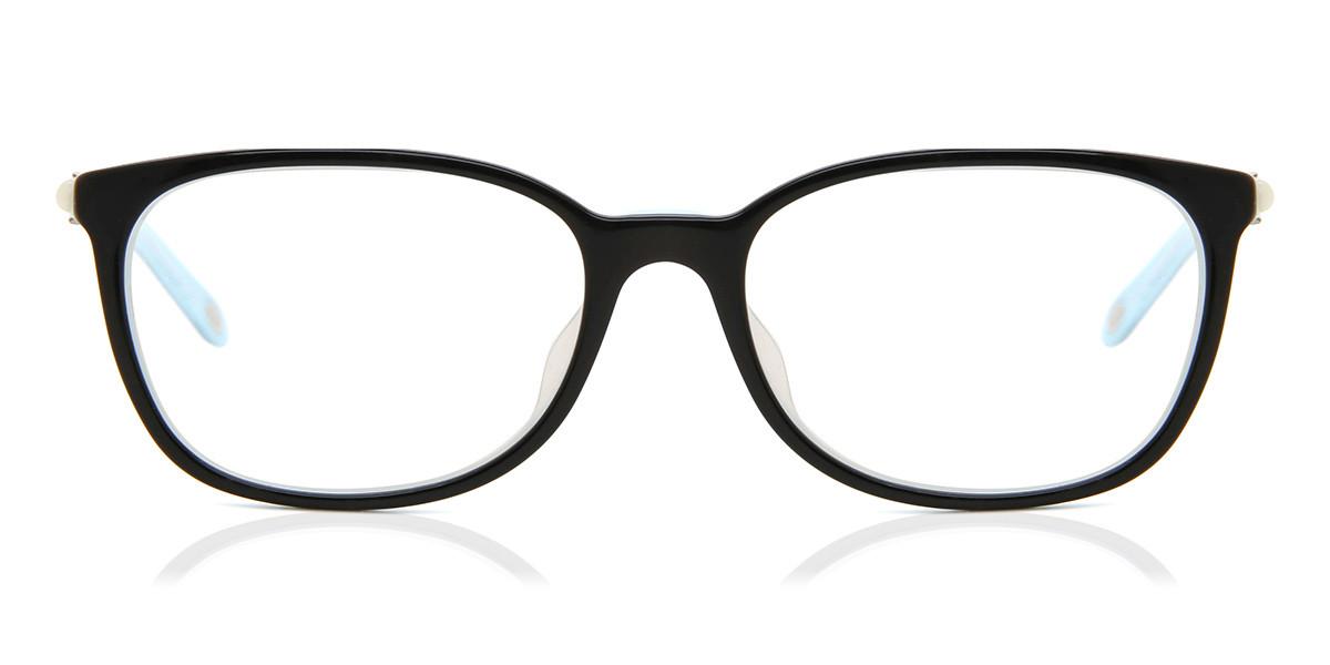 Tiffany & Co. TF2109BF Asian Fit 8193 Women's Glasses Black Size 53 - Free Lenses - HSA/FSA Insurance - Blue Light Block Available