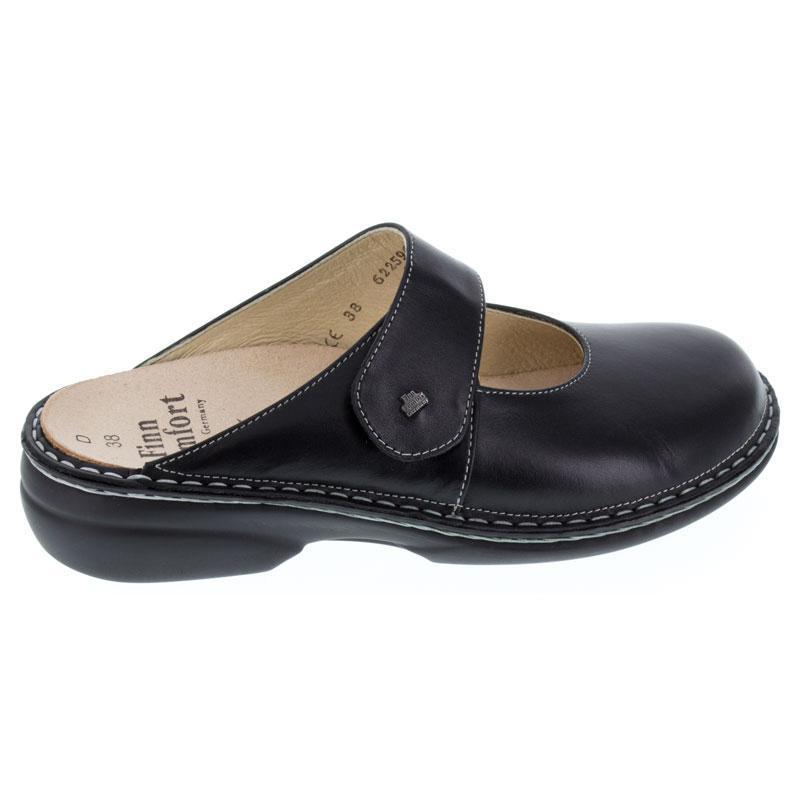 Finn Comfort Stanford Black Leather 38