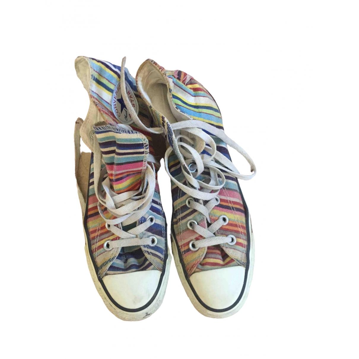 Converse - Baskets   pour femme en toile - multicolore