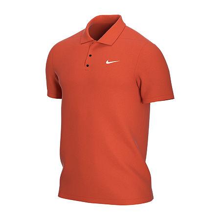 Nike Big and Tall Mens Short Sleeve Polo Shirt, 4x-large Tall , Orange