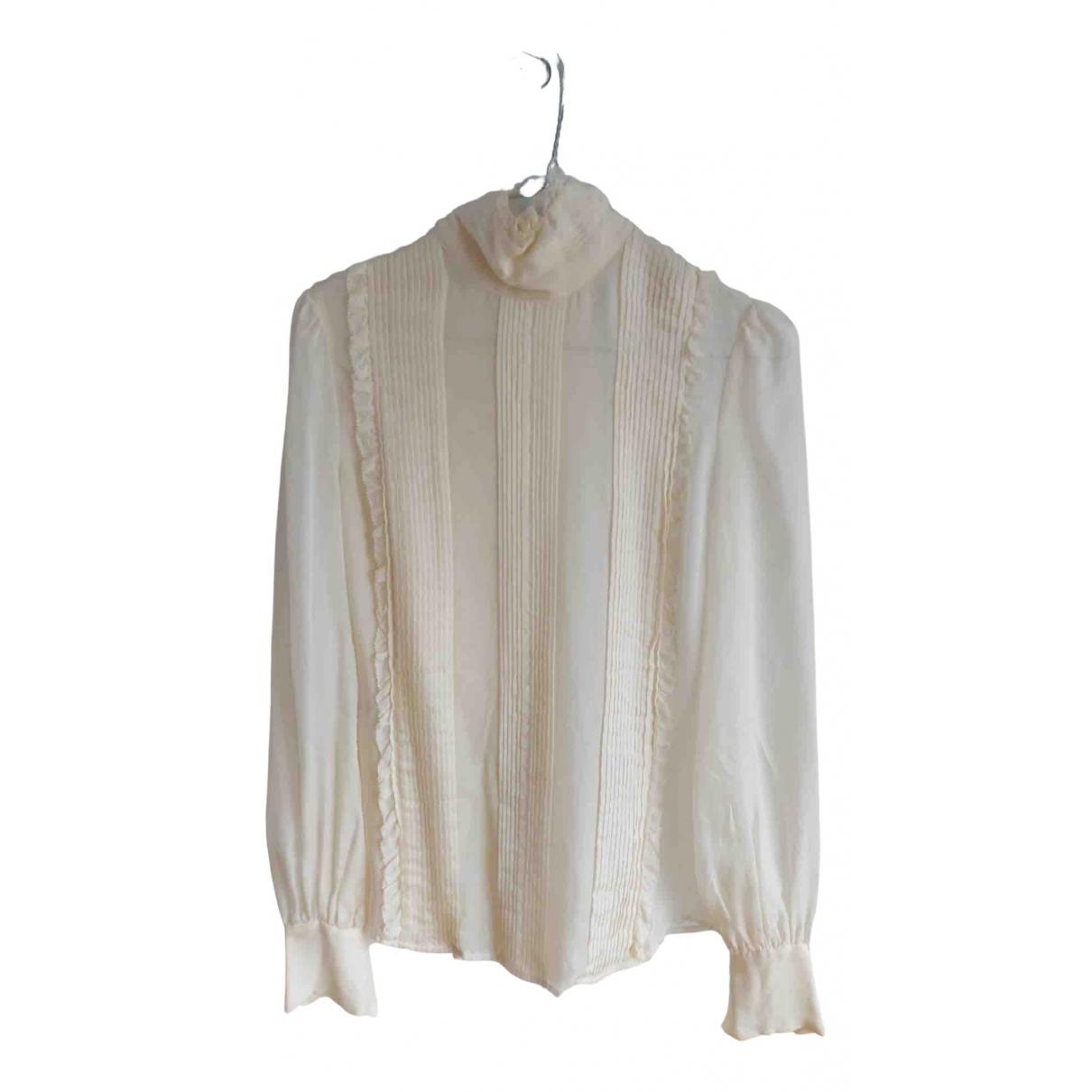 Camisa de Seda Mcq