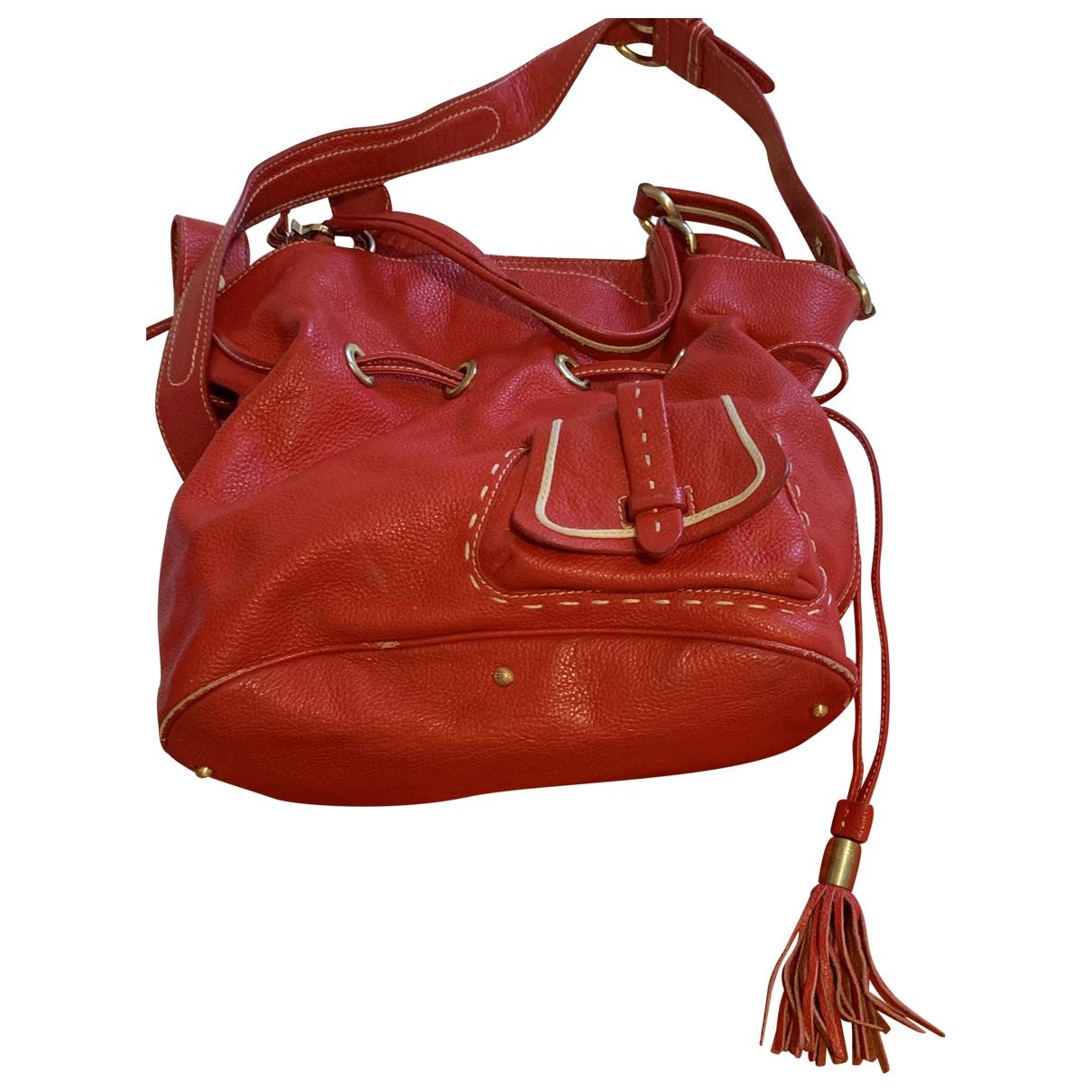 Lancel 1er Flirt Red Leather handbag for Women \N