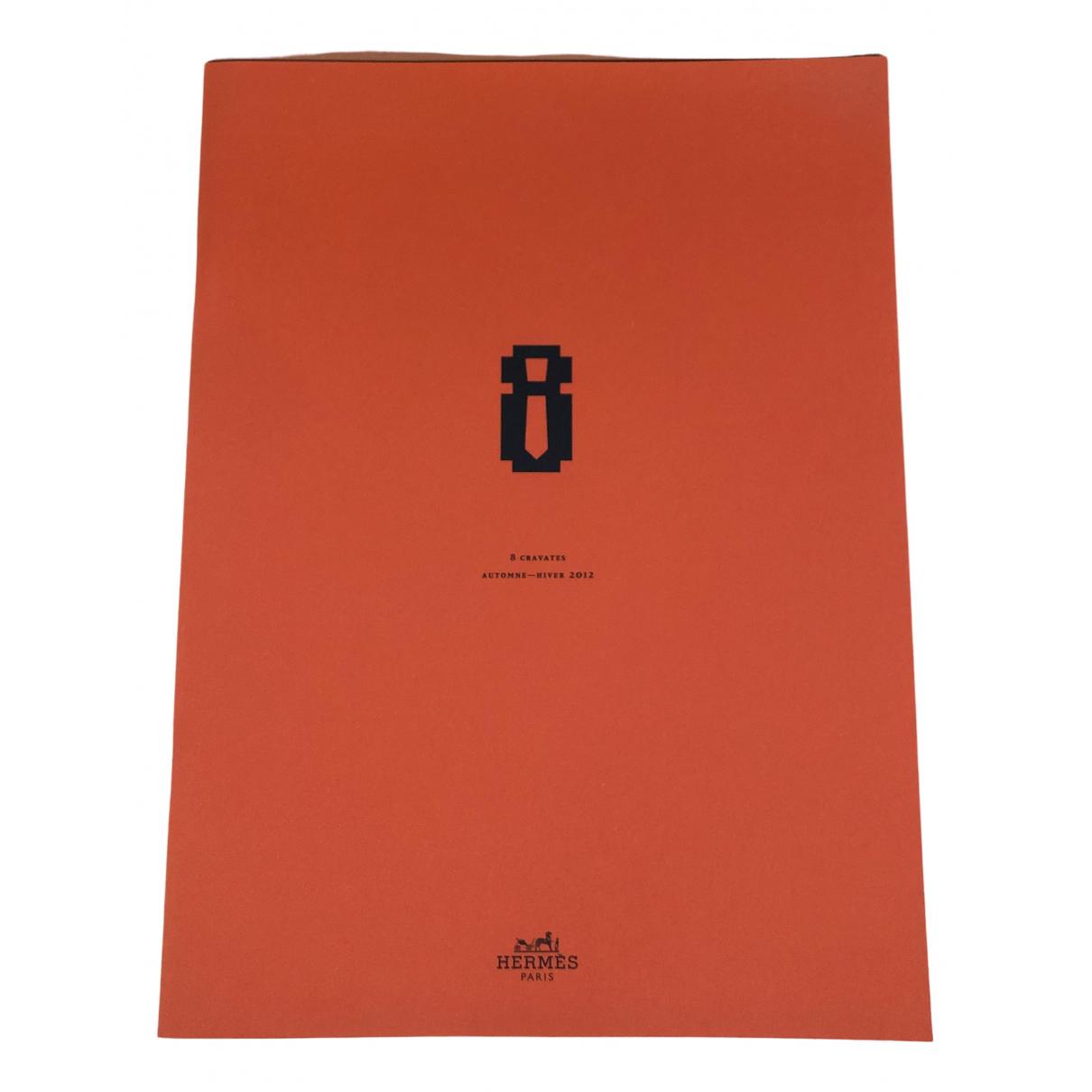 Hermes - Mode   pour lifestyle en coton - orange