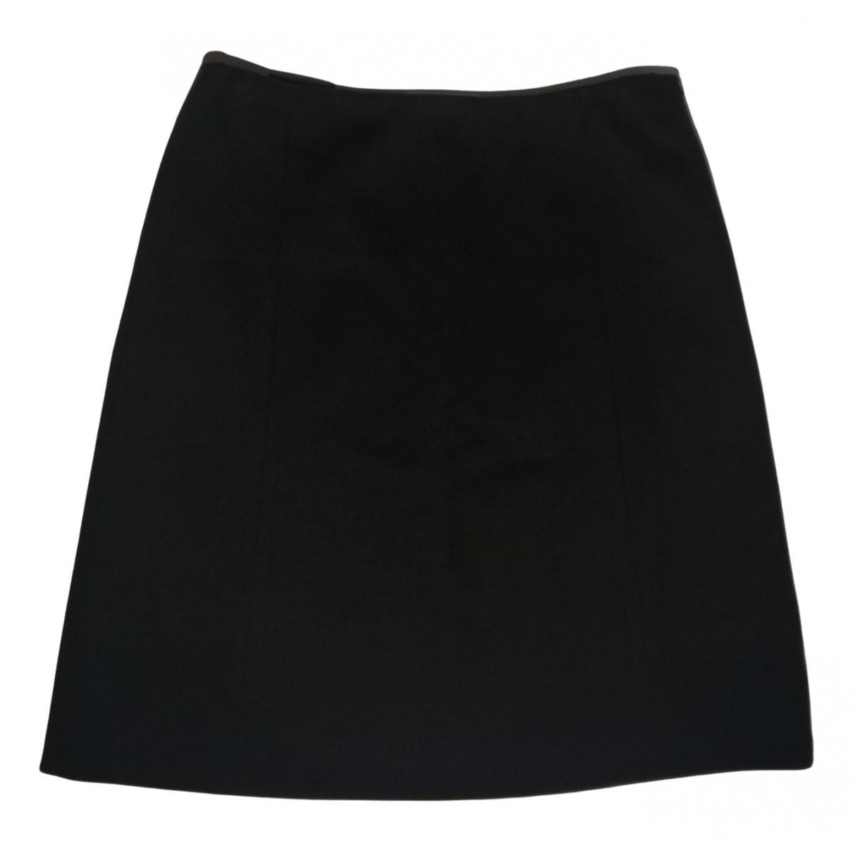 Prada N Black Cotton skirt for Women 40 IT