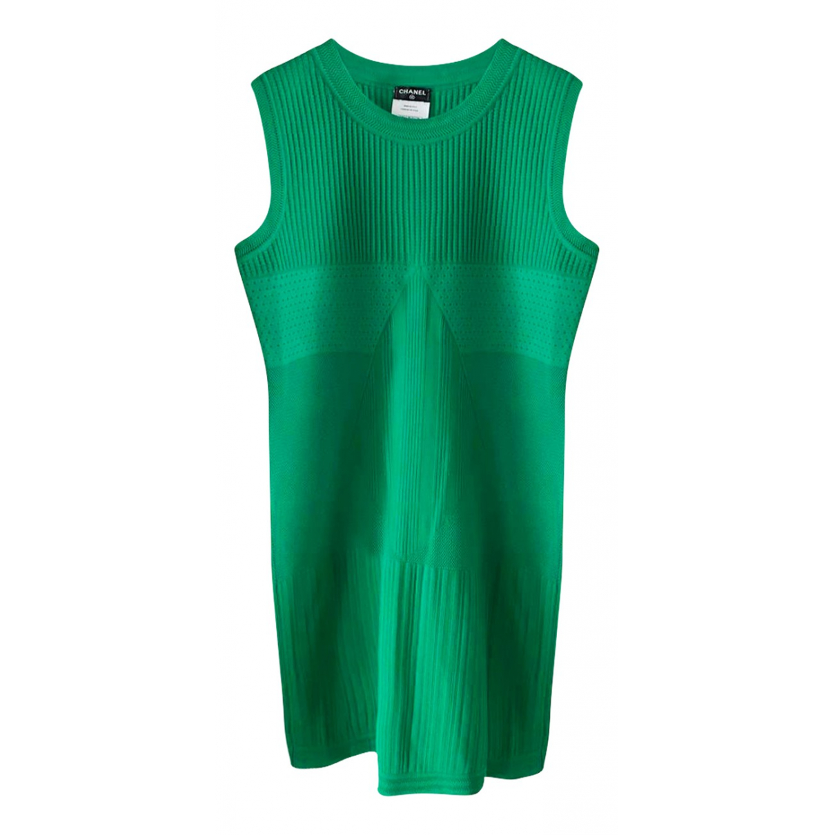 Chanel \N Green Cotton dress for Women 38 FR