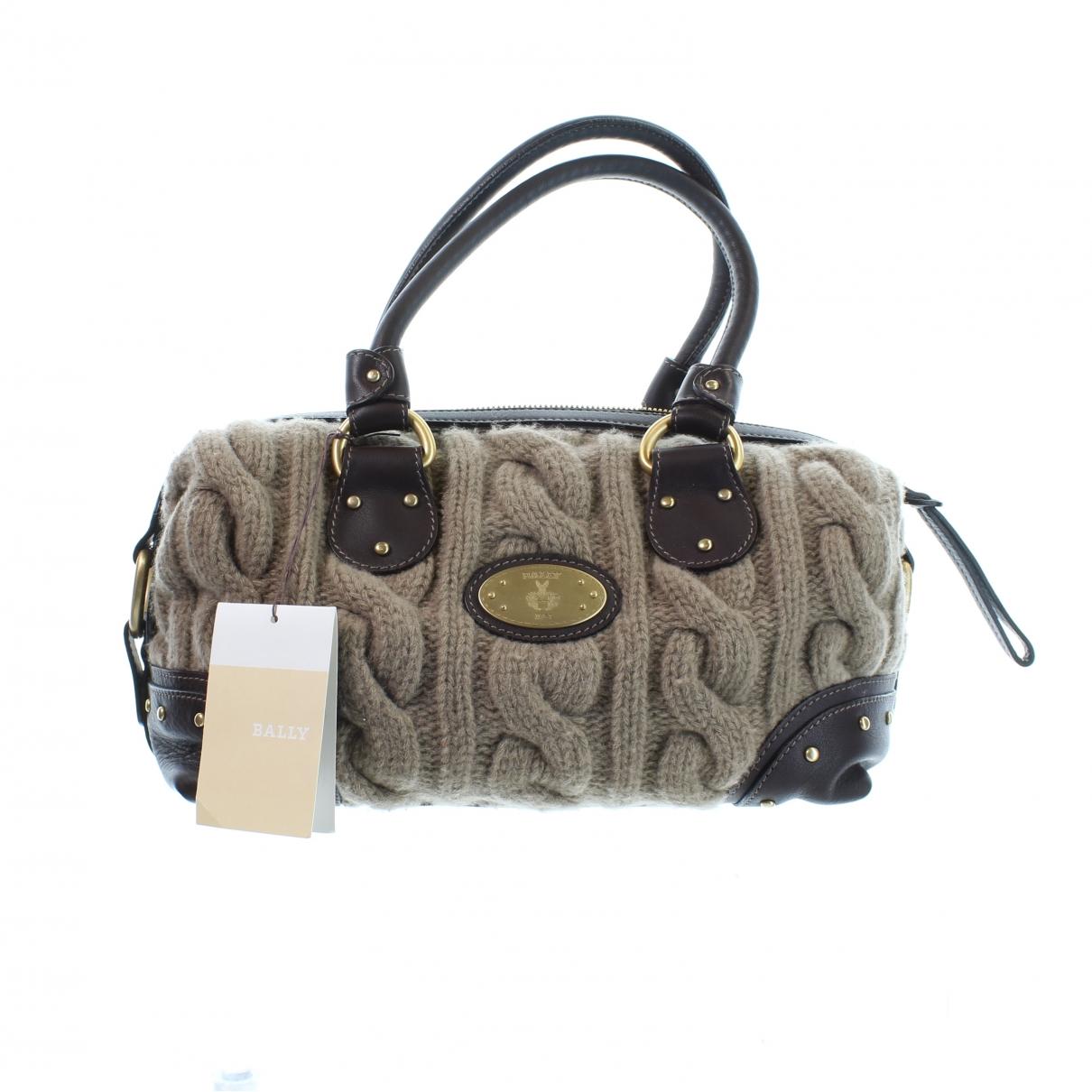 Bally \N Handtasche in  Braun Leder