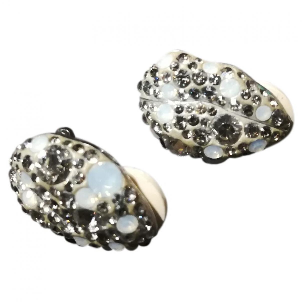 Swarovski \N Silver Crystal Earrings for Women \N