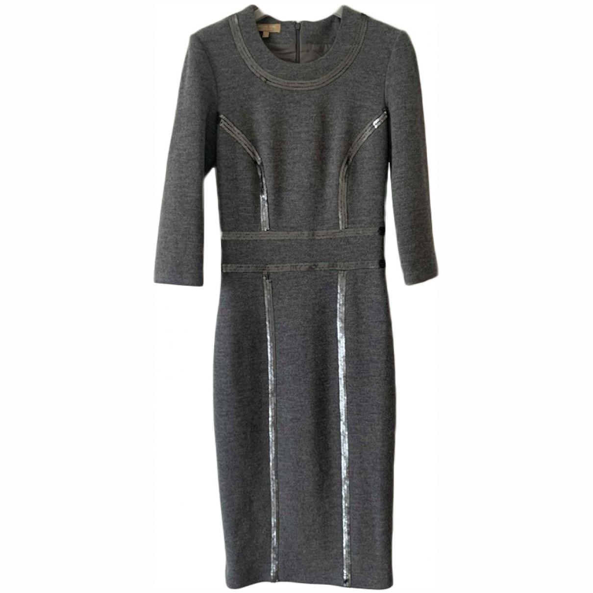 Michael Kors \N Grey Wool dress for Women 2 US