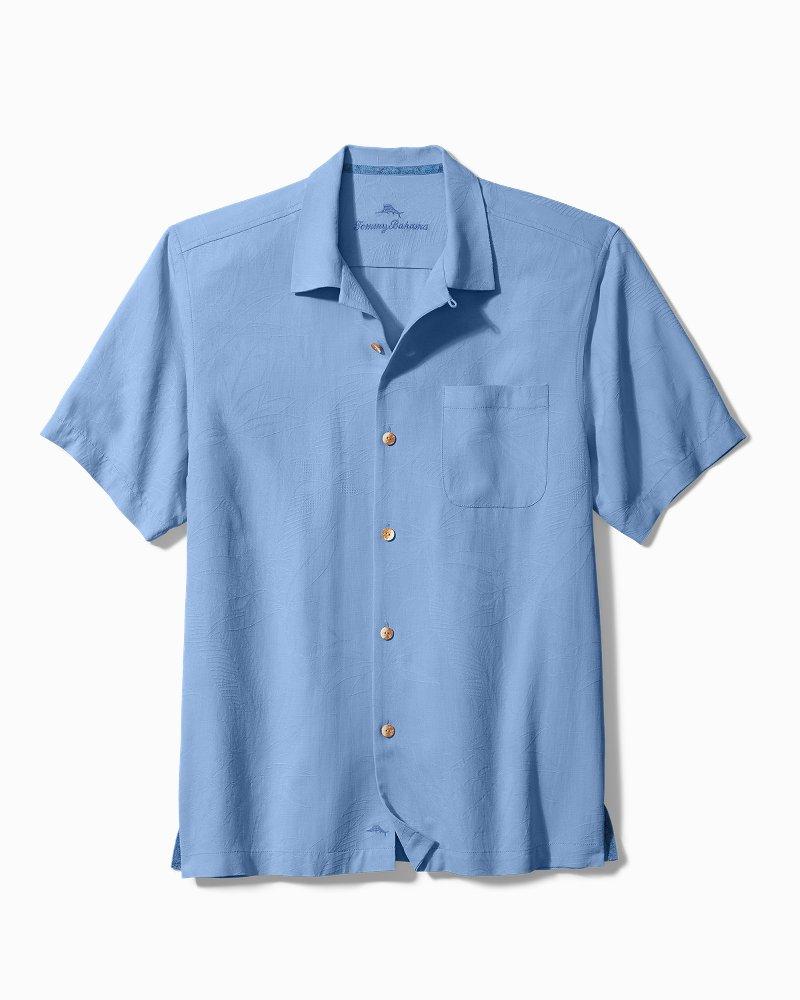 Big & Tall Al Fresco Tropics Camp Shirt