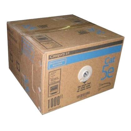 Electronic Master Cat5e 24AWG UTP câble en vrac solide, 1000pi - blanc