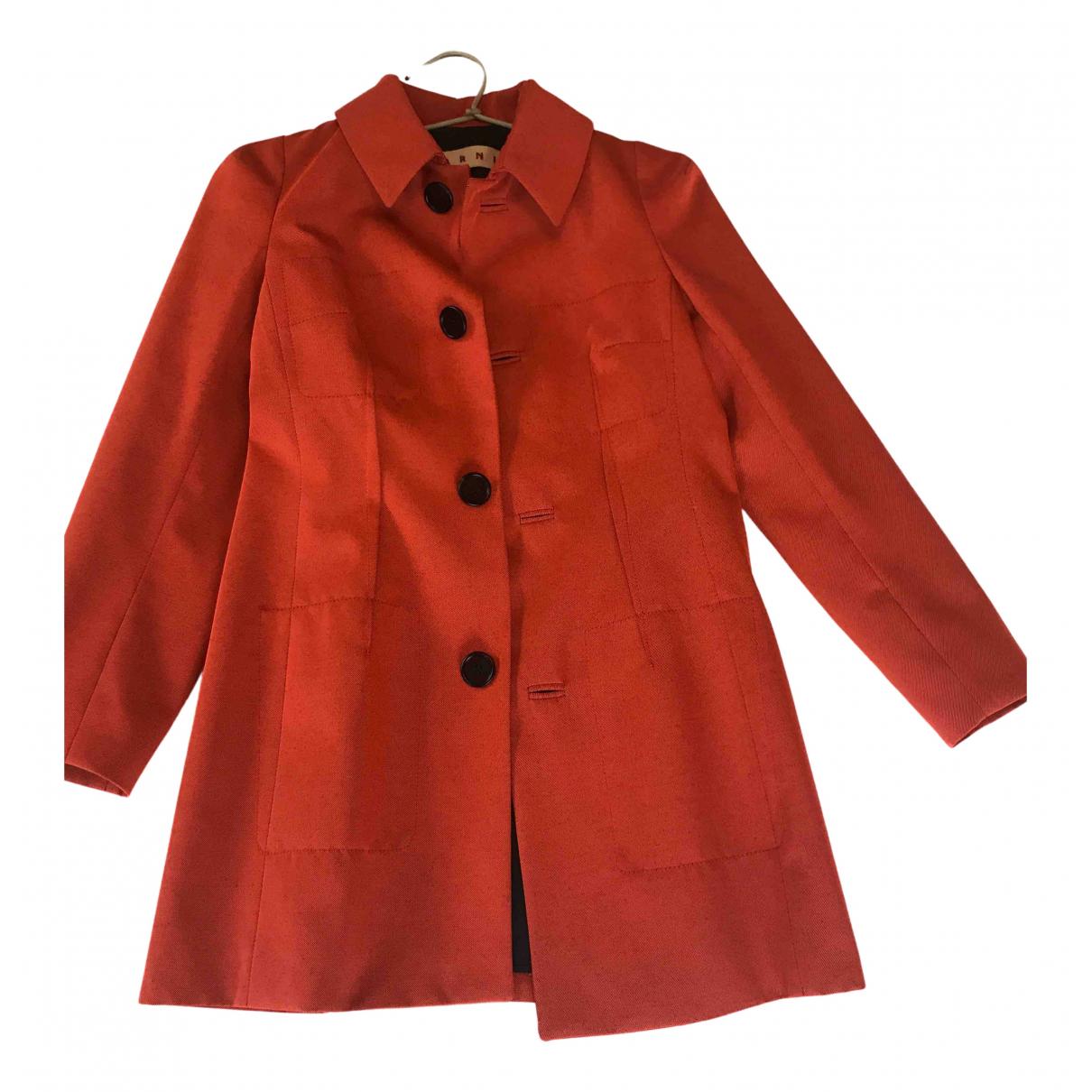Marni N Linen Trench coat for Women 34 FR