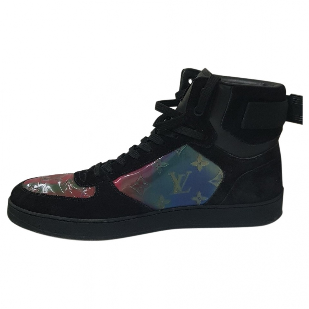 Louis Vuitton Rivoli Sneakers in  Schwarz Leder