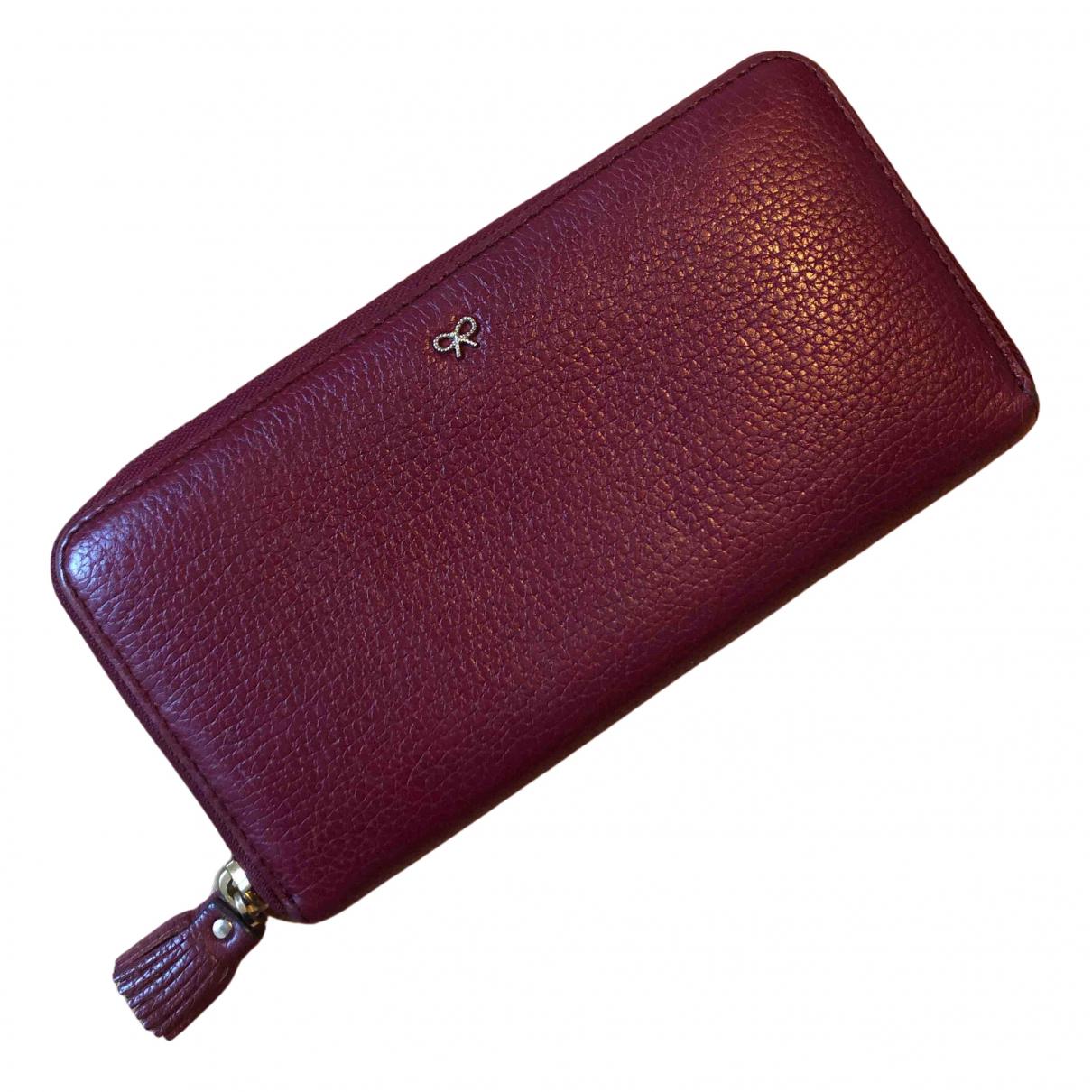 Anya Hindmarch N Purple Leather wallet for Women N