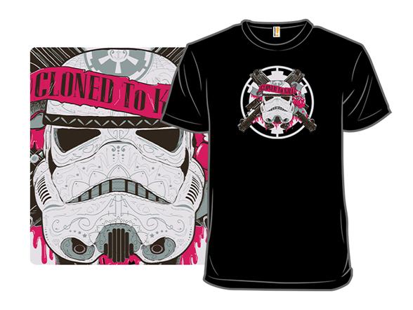 Blasters N Roses T Shirt