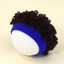 Sombrero tejido creativo de niñitos