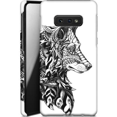 Samsung Galaxy S10e Smartphone Huelle - Wolf Profile von BIOWORKZ