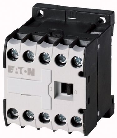 Eaton Contactor Relay - 2NO/2NC, 3 A Contact Rating