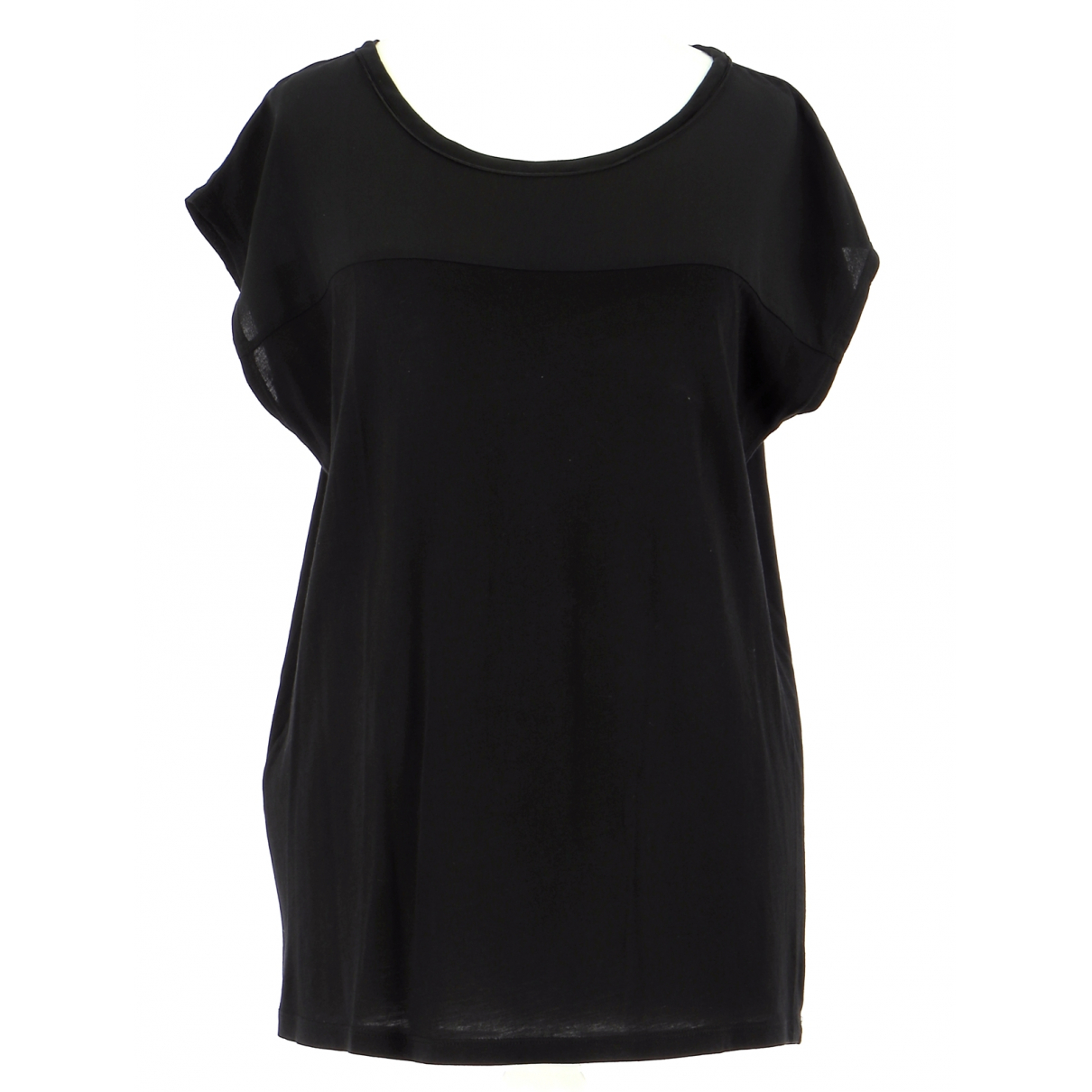 Comptoir Des Cotonniers \N Black Cotton  top for Women 36 FR