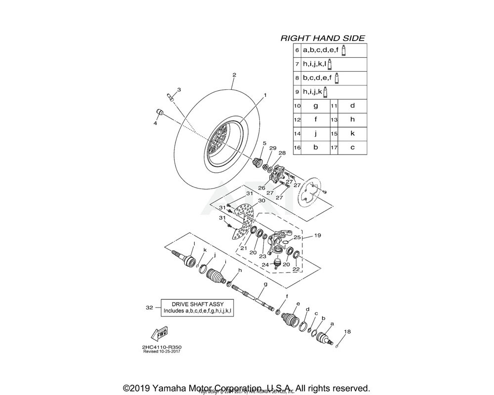 Yamaha OEM 90114-12005-00 BOLT, SERRATION