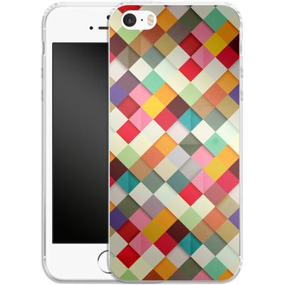 Apple iPhone SE Silikon Handyhuelle - Pass This On von Danny Ivan