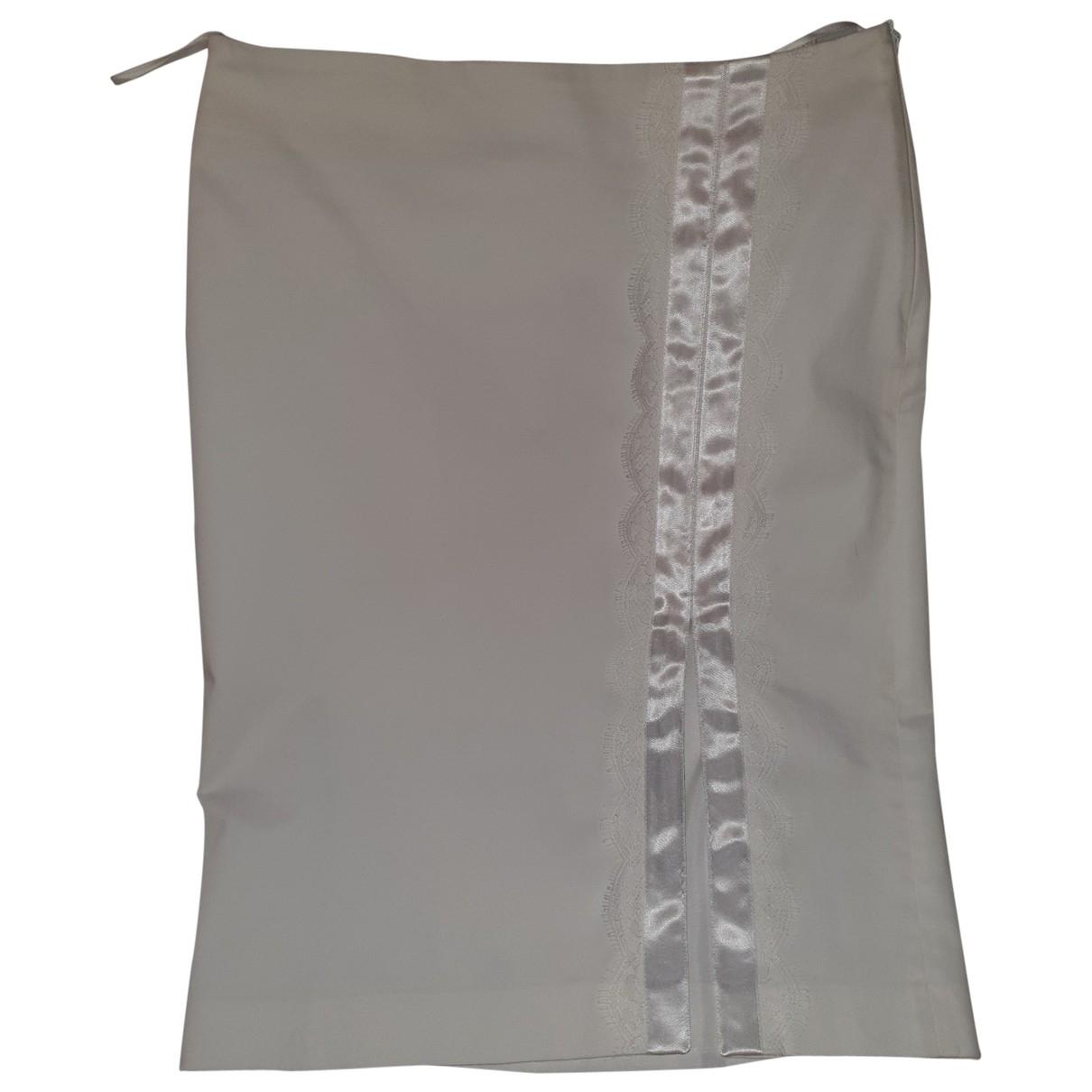 Wolford - Jupe   pour femme en coton - blanc