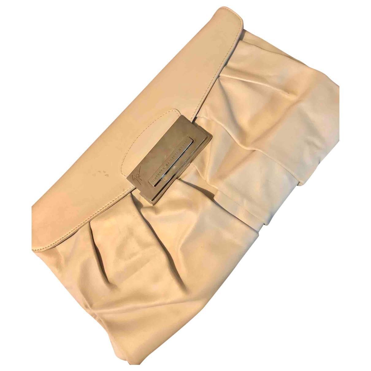 Giuseppe Zanotti \N White Leather Clutch bag for Women \N