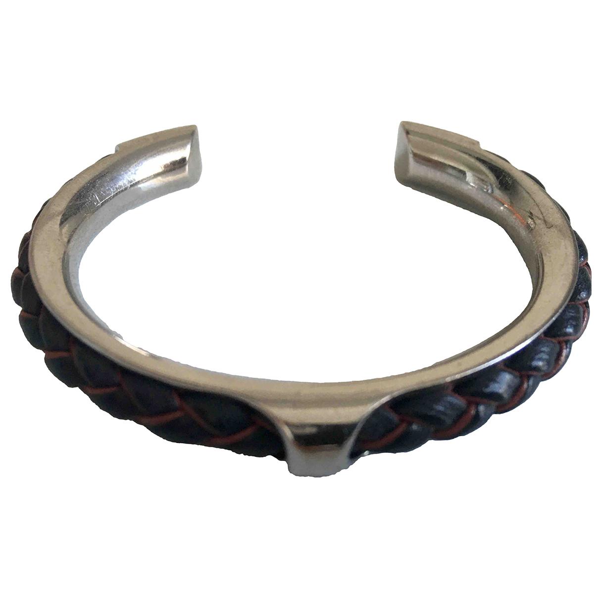 Hermes \N Armband in  Blau Metall