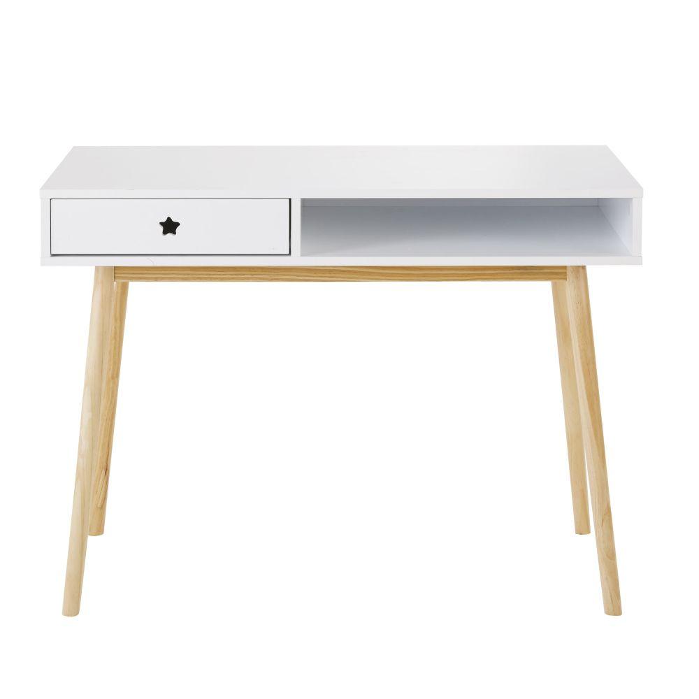 Schreibtisch mit 1 Schublade, weiss Dreams
