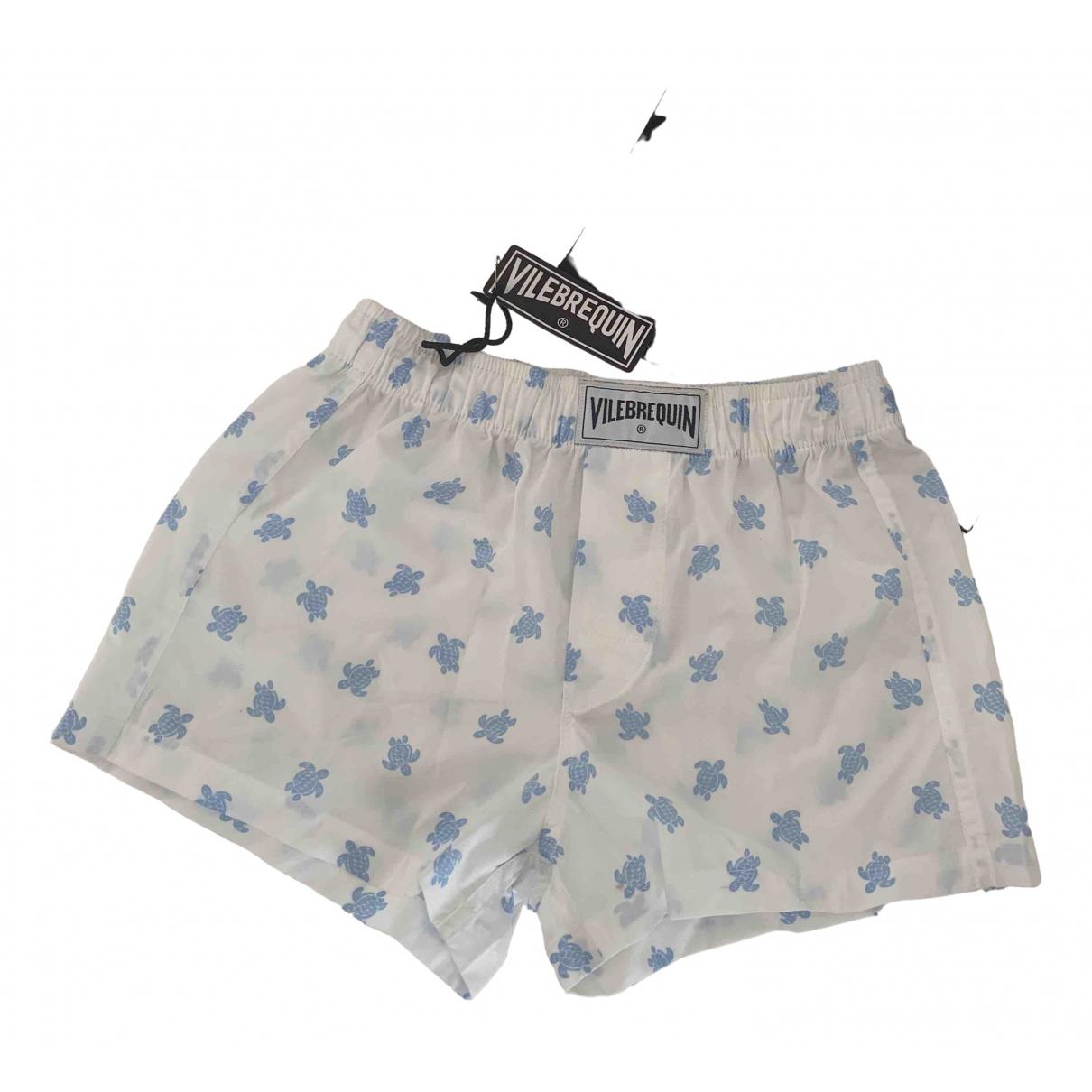 Vilebrequin - Short   pour enfant en coton - blanc