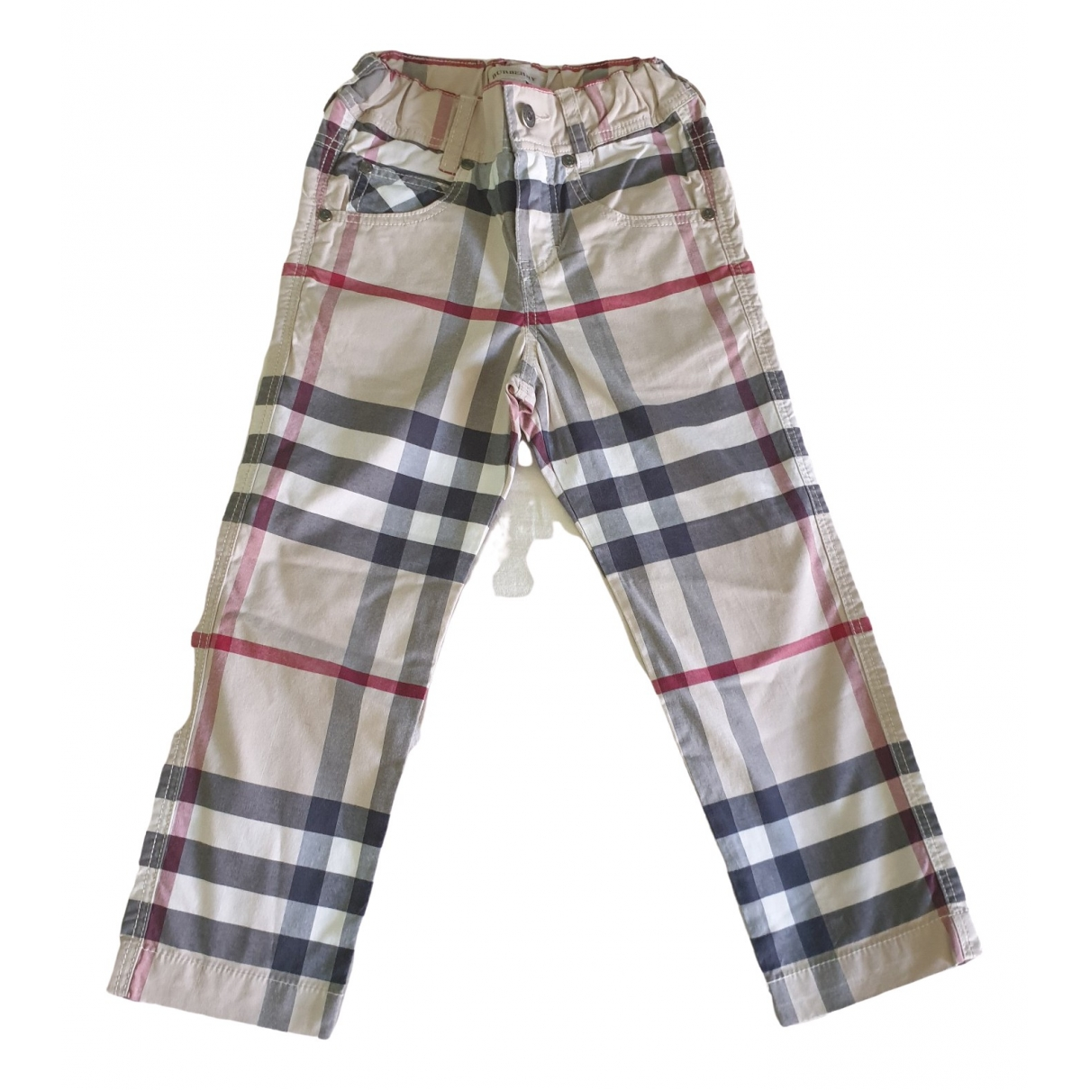 Burberry \N Multicolour Cotton Trousers for Kids 3 years - up to 98cm FR
